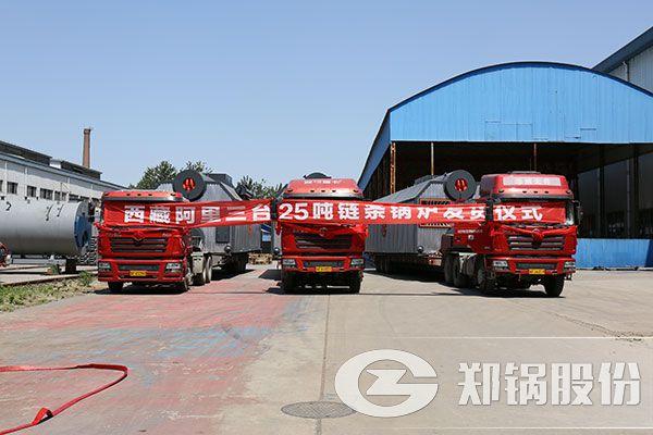 25吨燃煤链条炉排热水锅炉燃料成本和锅炉价格