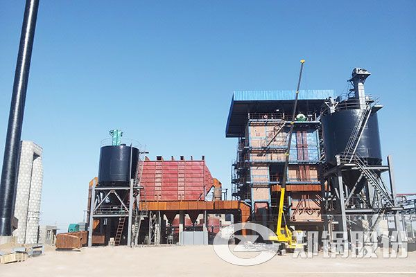 116MW热水锅炉